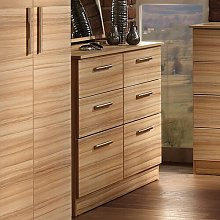 Lyman 6 Drawer Chest Marlow Home Co. Colour: