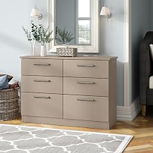 Lyman 6 Drawer Chest Marlow Home Co.