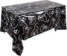 LYMHGHJ Rectangular Halloween Tablecloth Halloween