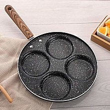 LYMUP 4-Cup Egg Frying Pan, Non Stick Egg Cooker