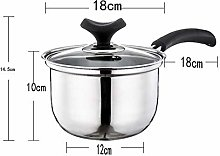 LYMUP Stainless Saucepan Pot Mini Milk Pot