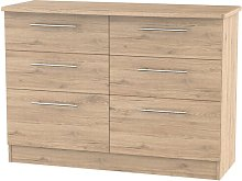 Lyndale 6 Drawer Chest Marlow Home Co. Colour:
