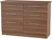 Lyndale 6 Drawer Chest Marlow Home Co.