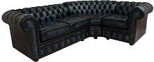 Lyndhurst Chesterfield Leather Corner Corner Sofa