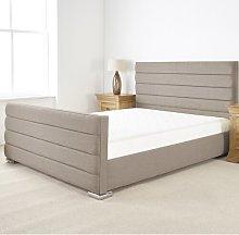 Lyne Upholstered Bed Frame Wade Logan Size: Single