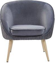 Lynn Tub Chair Norden Home Upholstery Colour: Grey