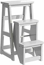 LYNNDRE Folding Stair Chair, Foldable Dual-Use
