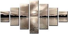 Lynxart 7 Panel Total Size 160x90cm New Canvas