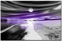 Lynxart - Pearl Style - New Purple wall art Large