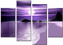 Lynxart - Venus - New black Purple mauve lilac