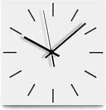 LYQQQQ Large Wooden Wall Clock European Silent