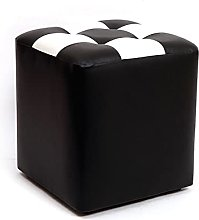 LYQQQQ Ottoman Creative Sofa Stool,Leather Change
