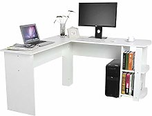 lyrlody Computer Desk,L-shaped Desk Large PC Table
