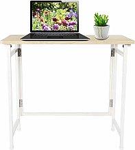 lyrlody Computer Table,Folding Computer Desk Craft