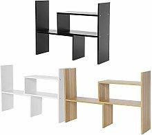 lyrlody Desk Display Shelf Rack Desktop Organizer