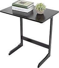 lyrlody End Table, Coffee Tray Side Desk L-Shaped