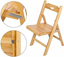 lyrlody Folding Chiars,Portable Bamboo Folding
