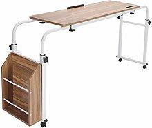 lyrlody Over Bed Table,Mobile Computer Desk