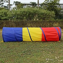 lyrlody Play Tunnel,1.8m Portable Kids Children