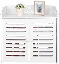 lyrlody Shoe Racks,4 Layers Household Shoes