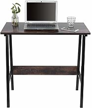 lyrlody Study Table, Computer Desk, Computer Desk,