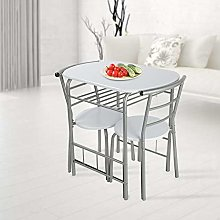 lyrlody Table Chair Set,Dining Table and 2 Chair