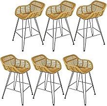 LYRWISHPB Breakfast Bar Stool,Bar Counter Chairs