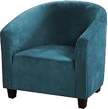 LYTBJ Stretch Tub Chair Cover Velve Durable Club