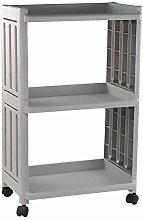LYWDJ 3-Tier Rolling Storage Organizer Kitchen