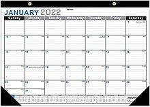 LYWYOUDDKH Desk Calendar with Trendy Classic Black
