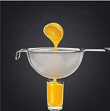 LYX Stainless Steel Colander Fine Mesh Filter with