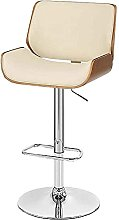 LYXCM Modern Bar Chairs, Adjustable Bar Stools