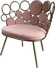 LYXJY Simple pink small sofa chair clothing nail