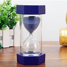 LYXMY Hexagonal Sand Timer,6 Colors Hourglass