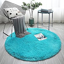 LYYYT-DT Area Rugs Round Bedroom Carpets Living