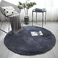 LYYYT-DT Modern Round Rugs Home Non Slip Washable