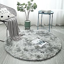 LYYYT-DT Nordic Round Area Rugs Home Non Slip
