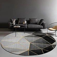 LYYYT-DT Round Rug Modern Light Luxury Home Decor