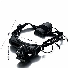 LZLYER Magnifier,with Lamp, Head-Mounted,