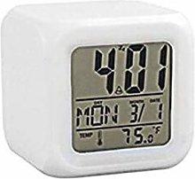 LZQBD Alarm Clocks,7 Colors Random Digital
