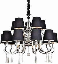 LZQBD Chandeliers,Pendant Lights,Crystal