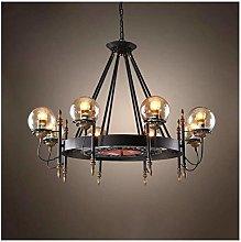 LZQBD Chandeliers,Pendant Lights,Retro Industry