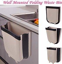 LZQBD Foldable Wet and Dry Trash Bin,Kitchen
