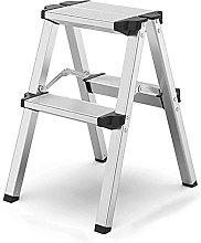 LZQBD Step Stools,Indoor Multifunction Aluminum