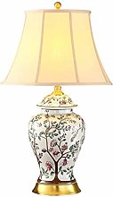LZQBD Table Lamps,Desk Lamp American Country Table