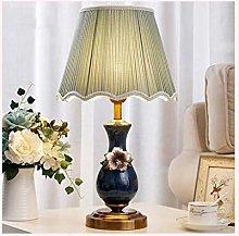LZQBD Table Lamps,Desk Lamp Ceramic Table