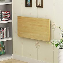 LZQBD Tables,Folding Table Solid Wood Hanging Wall