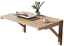 LZQBD Tables,Pure Solid Wood Wall Table Kitchen