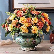LZQBD Vases,Retro Vases for Centerpieces,