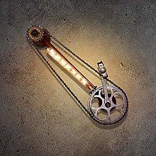 LZQBD Wall Lamp,Led Iron Art Industrial Retro